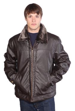 Wilda | Aviator Leather Jacket