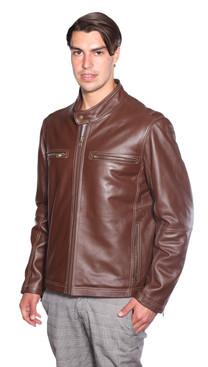 NuBorn Leather | Lance Moto Leather Jacket