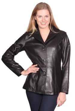 NuBorn Leather | Tribeca Leather Blazer