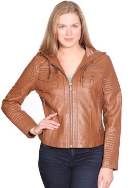 Christian NY | Claire Leather Jacket
