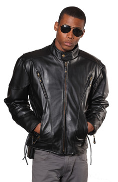 Wilda | Charger Leather Jacket