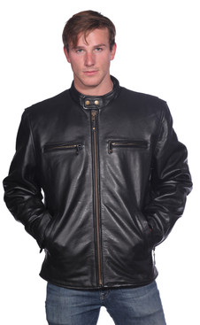 Wilda | Ethan Leather Jacket