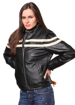 Wilda | Bailey Leather Jacket