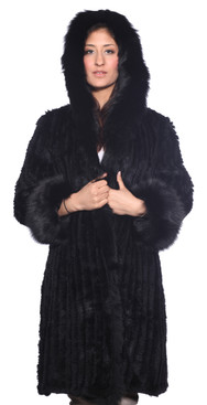 Wilda | Madison Fox Fur Stroller