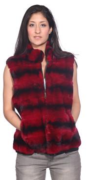Wilda | Lexington Rex Rabbit Fur Vest