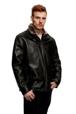 Mason & Cooper | Sage Leather Jacket