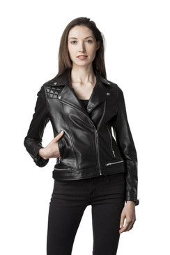 Mason & Cooper | Giselle Lamb Moto Jacket