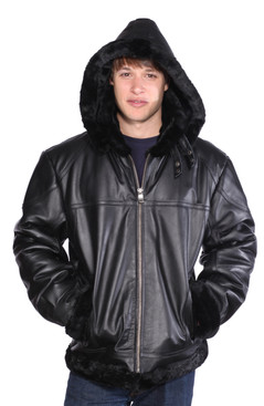 Wilda | Retro B-3 Leather Jacket