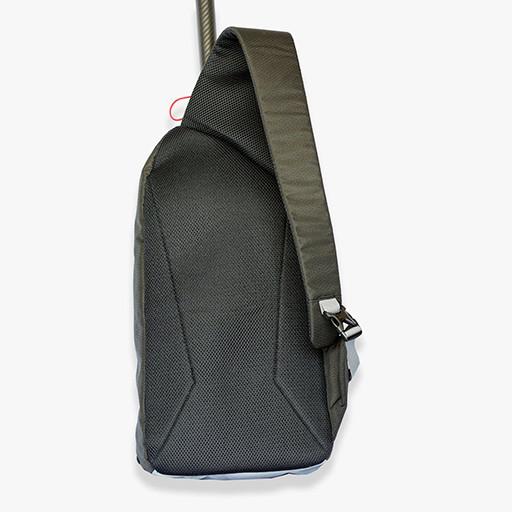 Back of the sling bag.