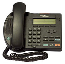 Nortel i2002 IP Phone NTDU91 Charcoal with Power Supply
