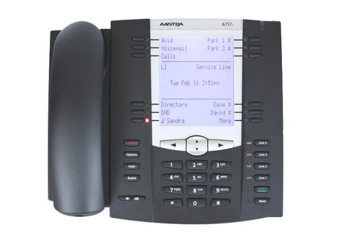 Aastra 6757i Dual Port IP Phone