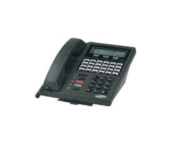 Samsung 24 Button LCD Phone 24B Black DCS 24 B Display