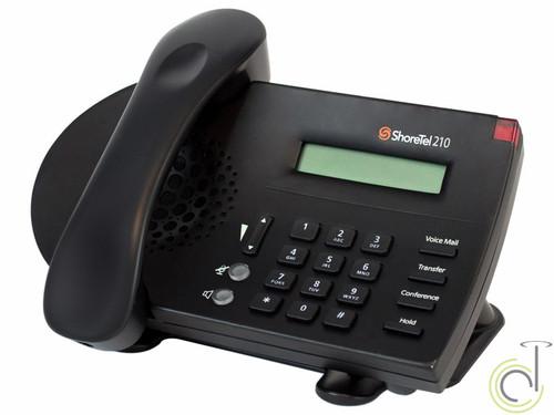 ShoreTel IP 210 Phone (Black)