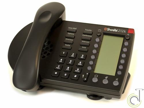 ShoreTel IP 212k Phone (Black)