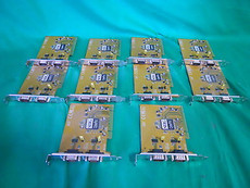 SIIG M8418 DB9 Serial Cards JJ-P02003 - Lot of 10