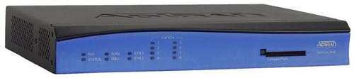 Adtran NetVanta 3448 8 Port Modular Router 1200821E1 Black