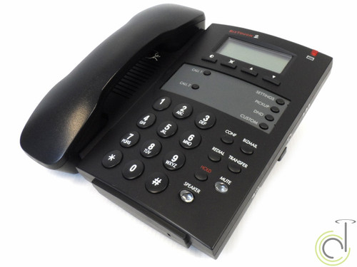Bizfon BT2 Biztouch Black Corded Display Phone