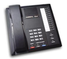 Comdial Impact 8112S-GT 12 Button Digital Phone Black