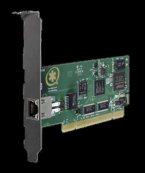 Digium TE134  Signle Span T1/E1 PCI Card