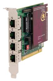 Digium TE407P Quad T1/E1 PCI Card