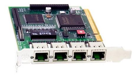Digium TE410P  Quad T1/E1 PCI Card