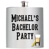 Custom Personalized Photo/Picture Flasks for Weddings, Bachelor/Bachelorette Parties, Birthdays