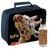 School Lunch Box and Water Bottle Set - Custom / Personalized with You favorite Picture, Design, Team & Name