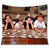Custom Personalized Fleece Blanket w/ Your Photos / Pictures / Design
