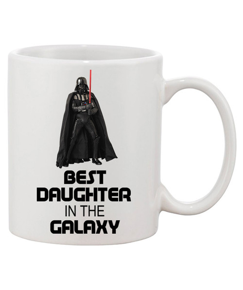 Best Daughter in the Galaxy Ceramic Coffee Mug! She's our Princess!