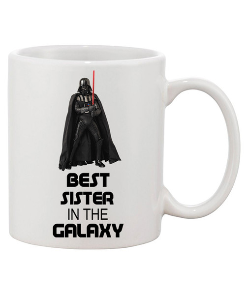 Best Sister in the Galaxy Ceramic Coffee Mug/Is She the Princess?