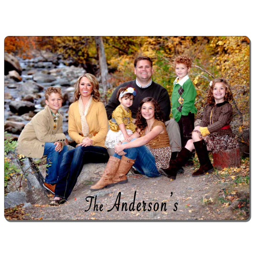 "Custom Personalized 5""x7"" Metal Photo Panel  Wall Art w/ Your Photo, Art or Design w/Shadow Mounts Ready to Hang"