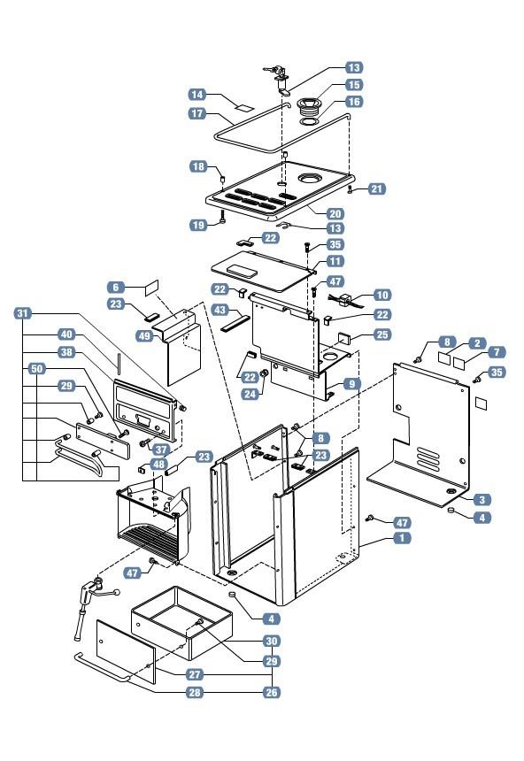 lavazza espresso point parts manual
