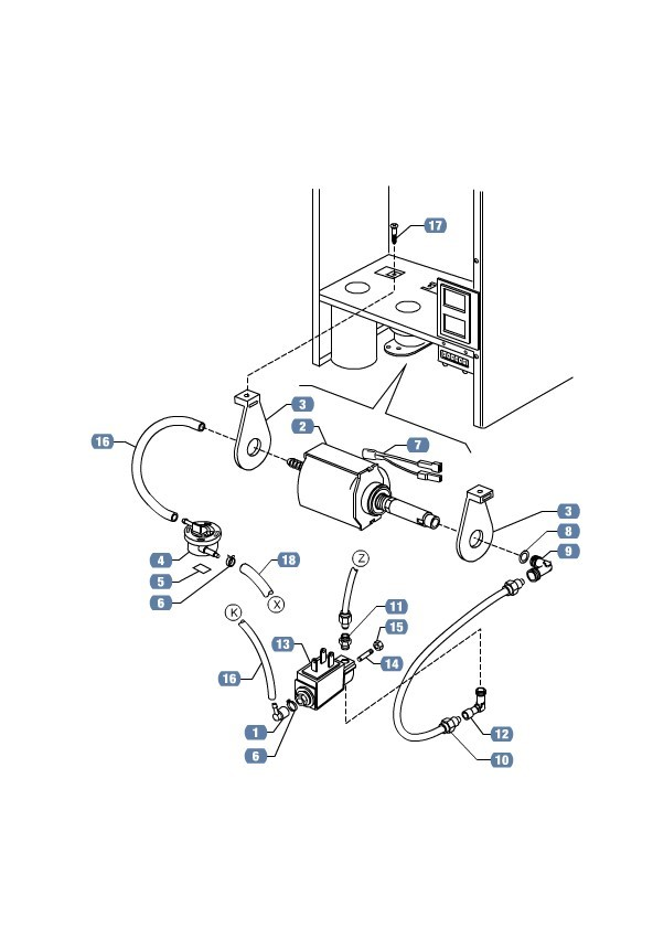 lavazza espresso machine parts