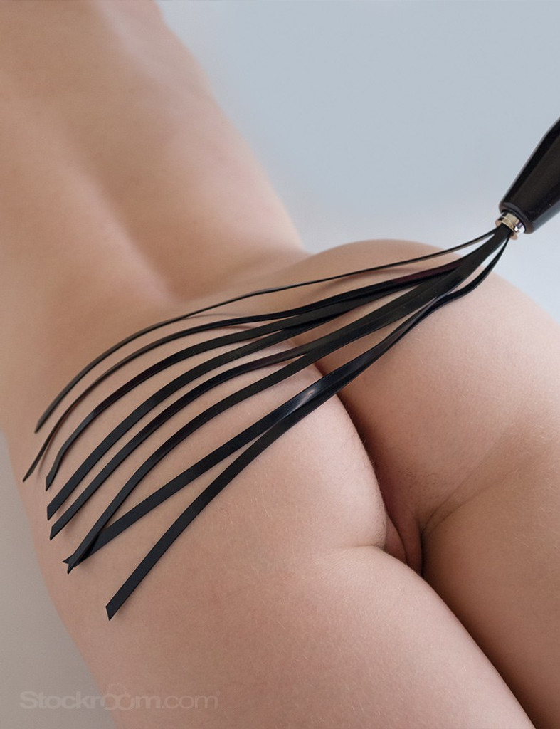 The Electro-Whip Neon Wand Attachment by KinkLab