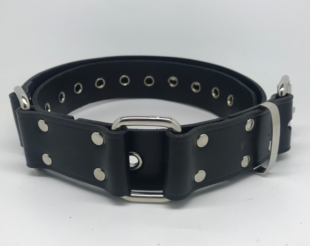 Hobble Belt - 38mm With Squares & Eyelets