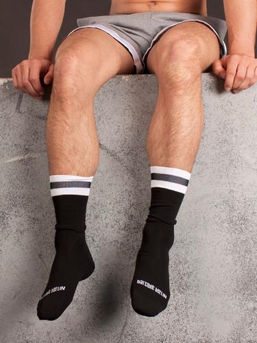 City Socks - Black & White