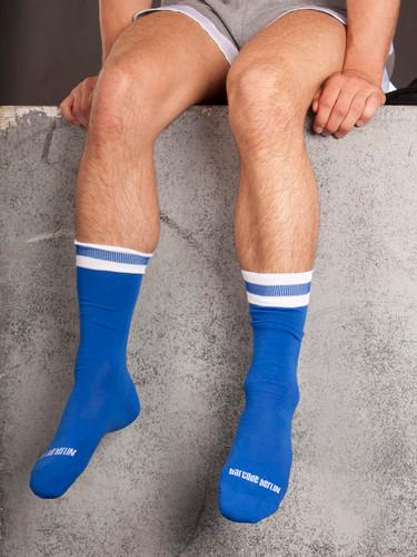 City Socks - Blue & White