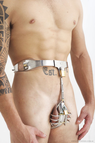 Male Ball Cage Design Chastity Belt