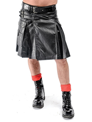 Mister B Leather Kilt
