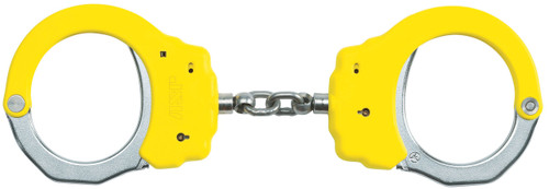 ASP Identifier Chain Handcuffs (Steel) - Yellow