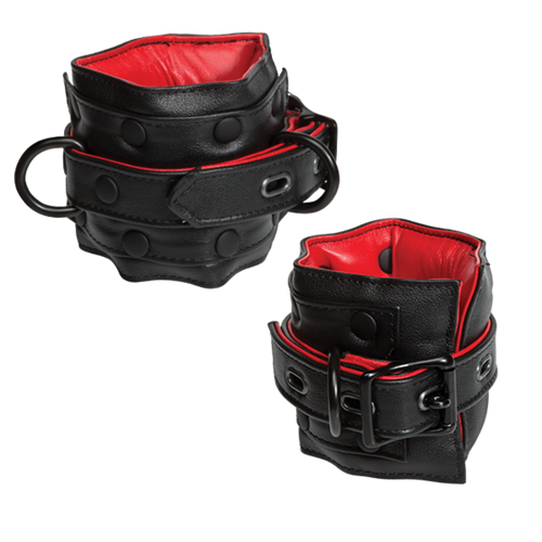 Leather Submissive Accessories Ankle Restraints