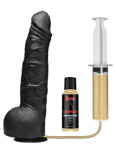 Wet Works Drencher - Silicone Squirting Cock