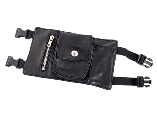 Mister B Leather Party Wallet All Black