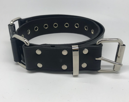 Hobble Belt - 38mm Wide with Squares & Eyelets
