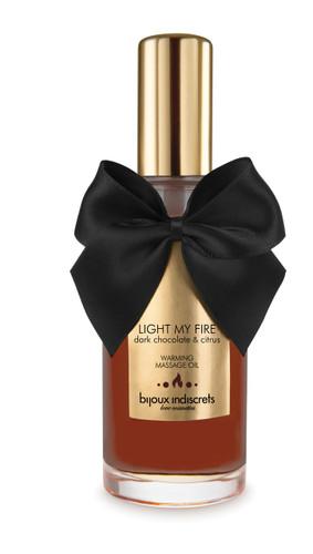Light My Fire - Dark Chocolate Warming Oil