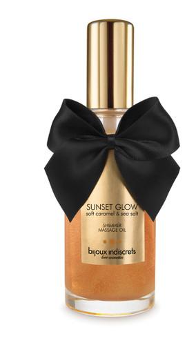 Sunset Glow - Soft Caramel Shimmer Oil