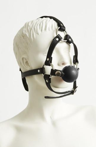 Ball Gag Head Harness