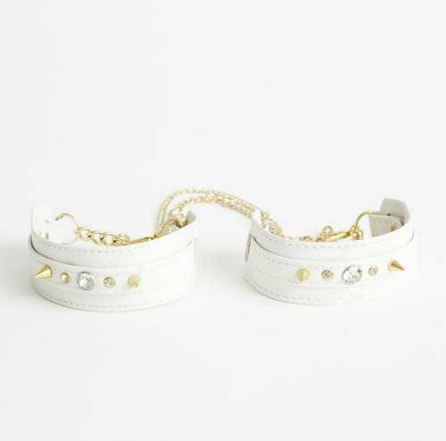 Ivory Ankle Restraints