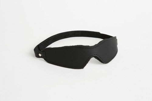 Plush Fur Lined Blindfold Small Velcro