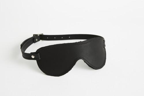 Plush Fur Lined Blindfold Aviator